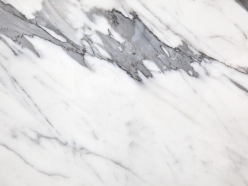 Marbre blanc statuario d'Italie
