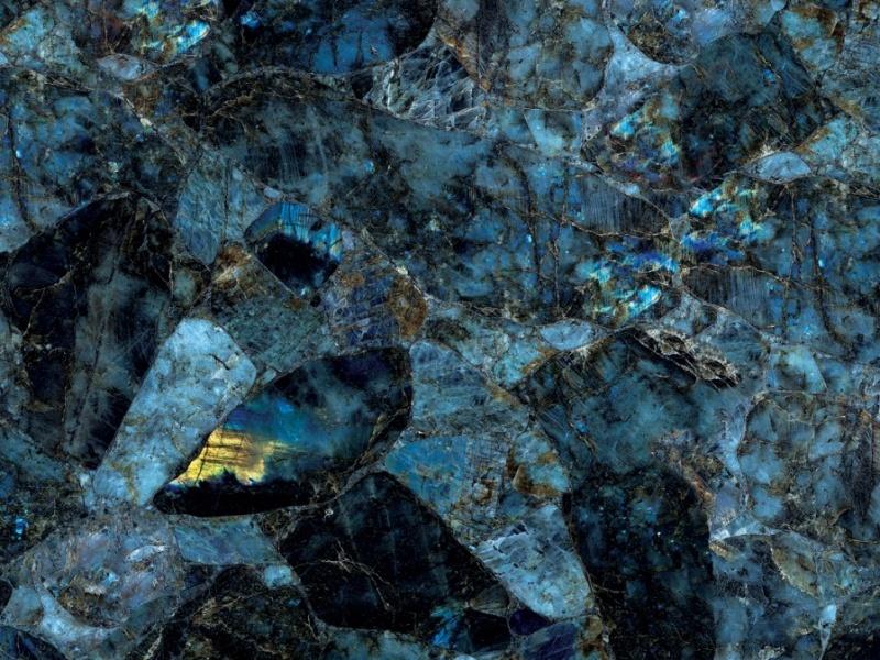 Semi-précieux Labradorite Precious Stone