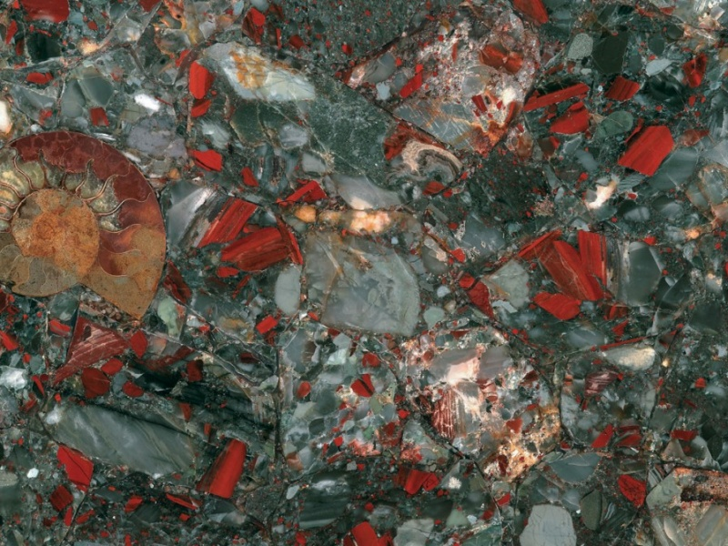 Semi-précieux Bloodstone