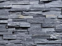 Ardoise Noire Stone Wall