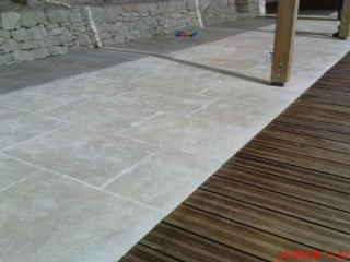Outside flooring