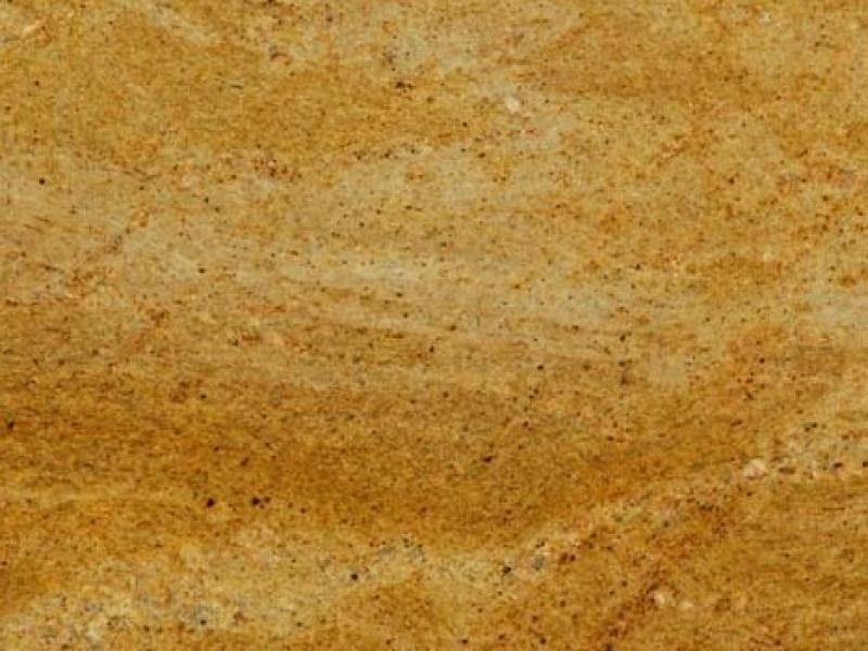 Plan De Travail En Madura Gold Evier Sous Plan En Inox Blancosupra