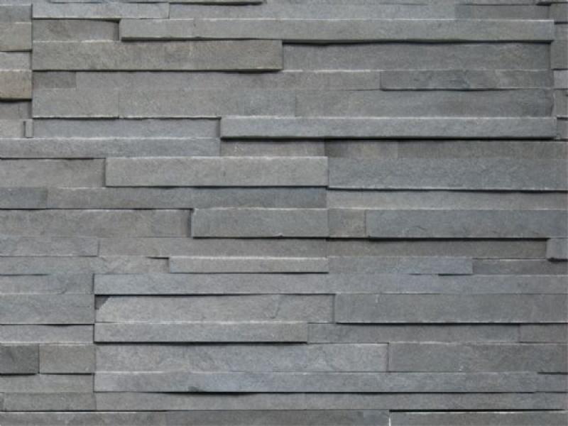 Oriental Basalt Stone Wall