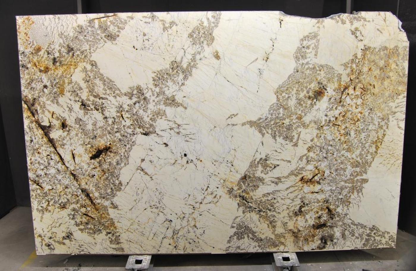 Marbre Tranche de granit blanc gris Alpinus