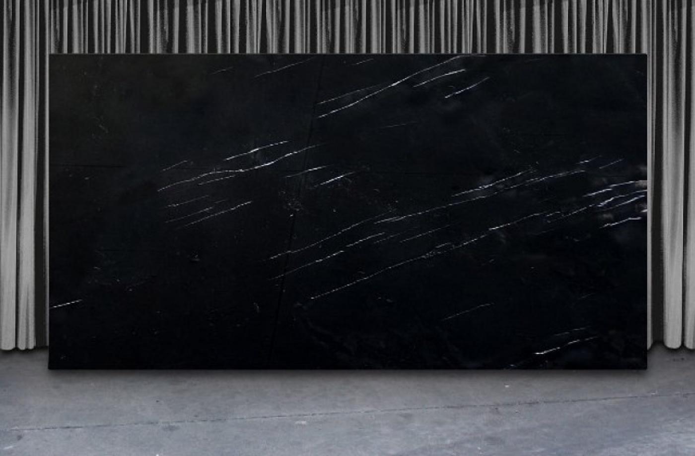 Onyx Black Silk