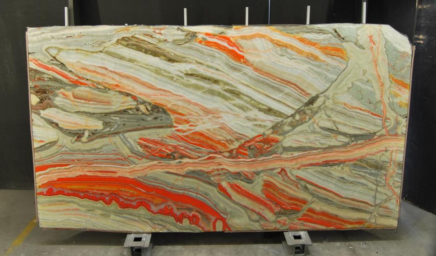 Quartzite tranche onyx multicolor rainbow