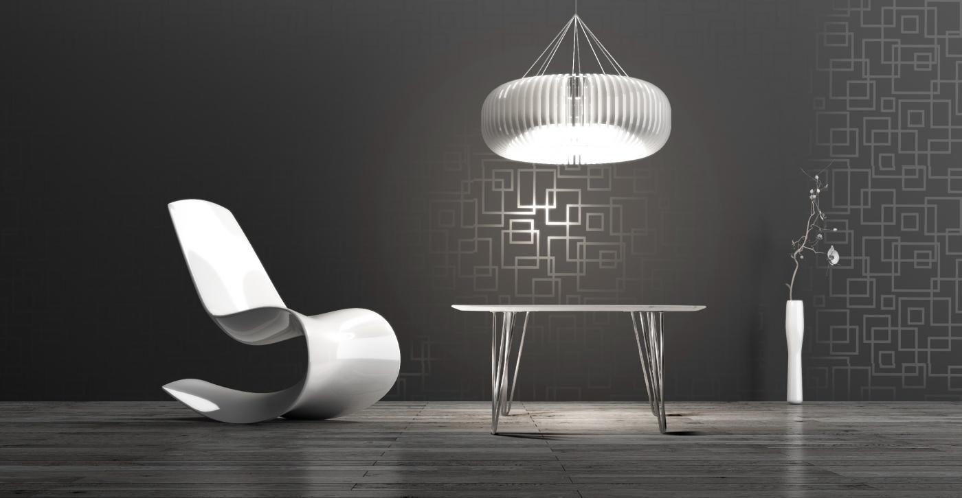 Selma: table basse design en marbre blanc Calacatta Pied tête d'épingle (hairpin legs) en acier chromé