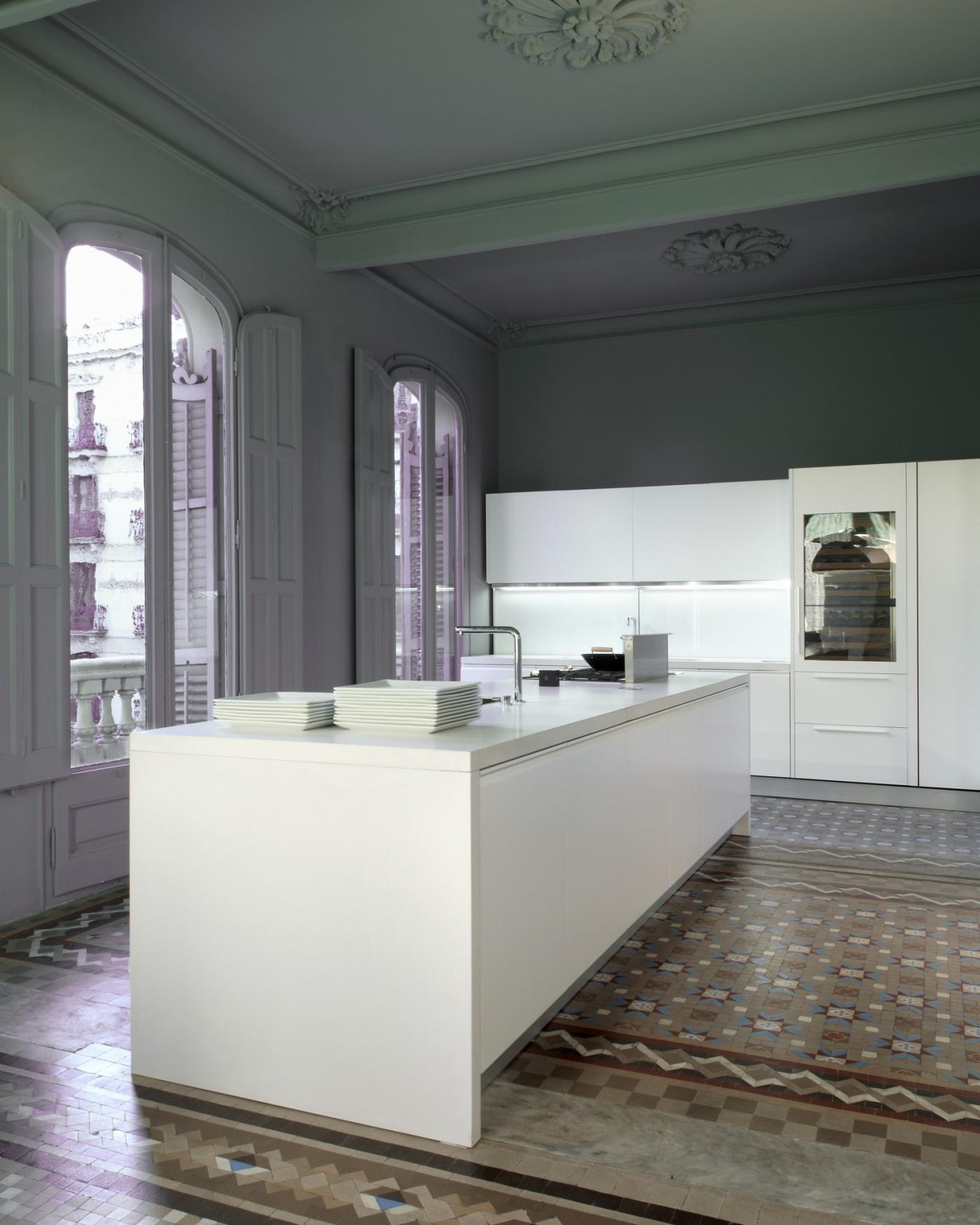 Silestone Blanco Zeus Extreme Plan de travail de cuisine