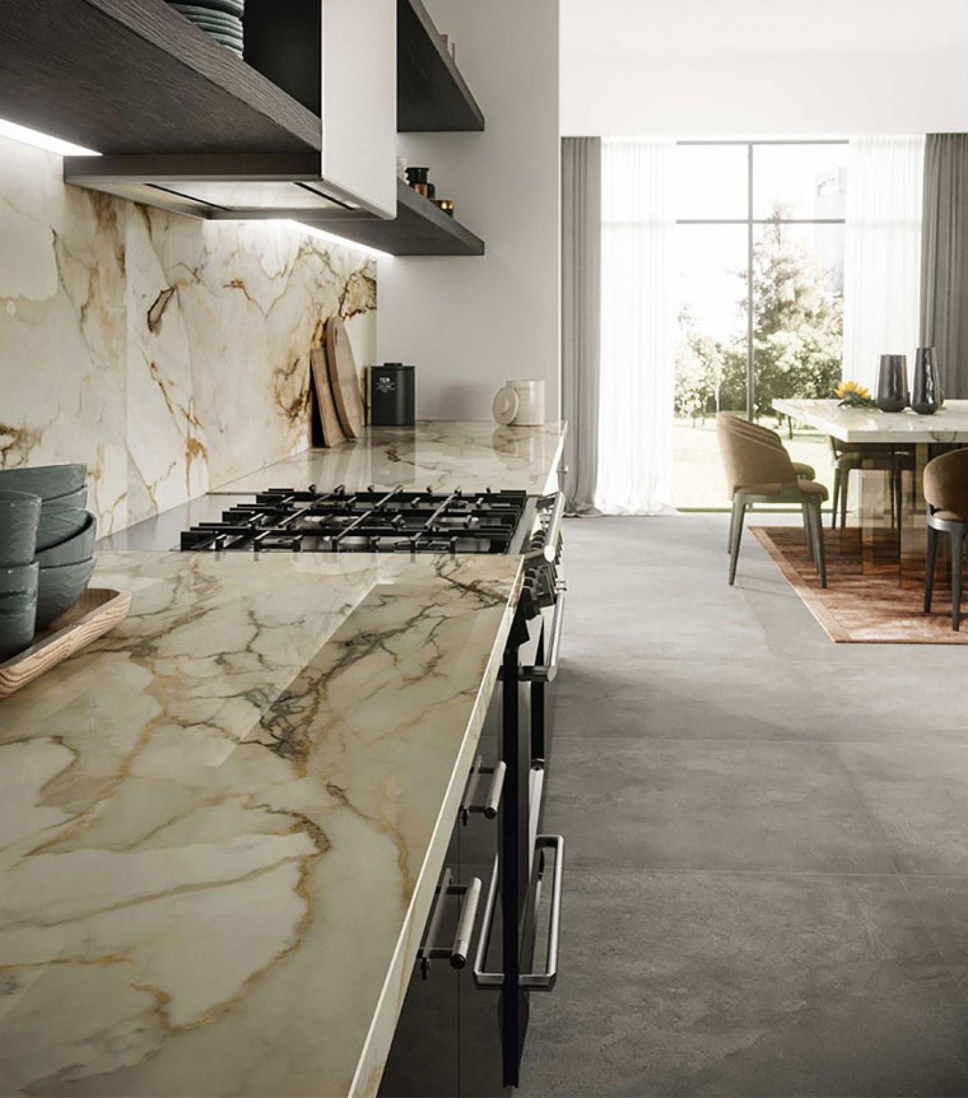Marbre Céramique marbre blanc calacatta