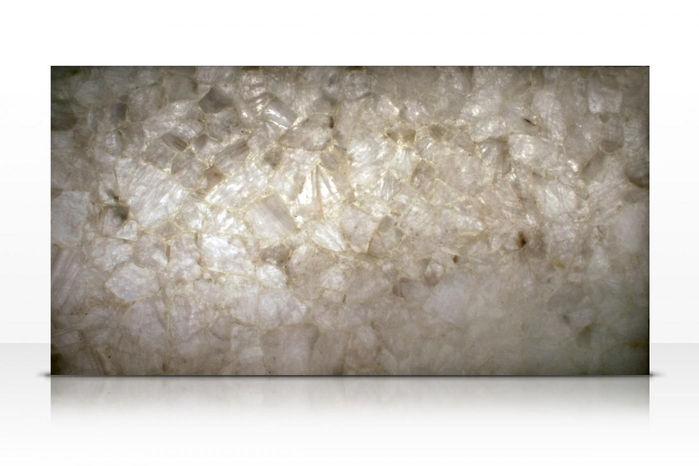 Quartzite Classic Quart slab backlit