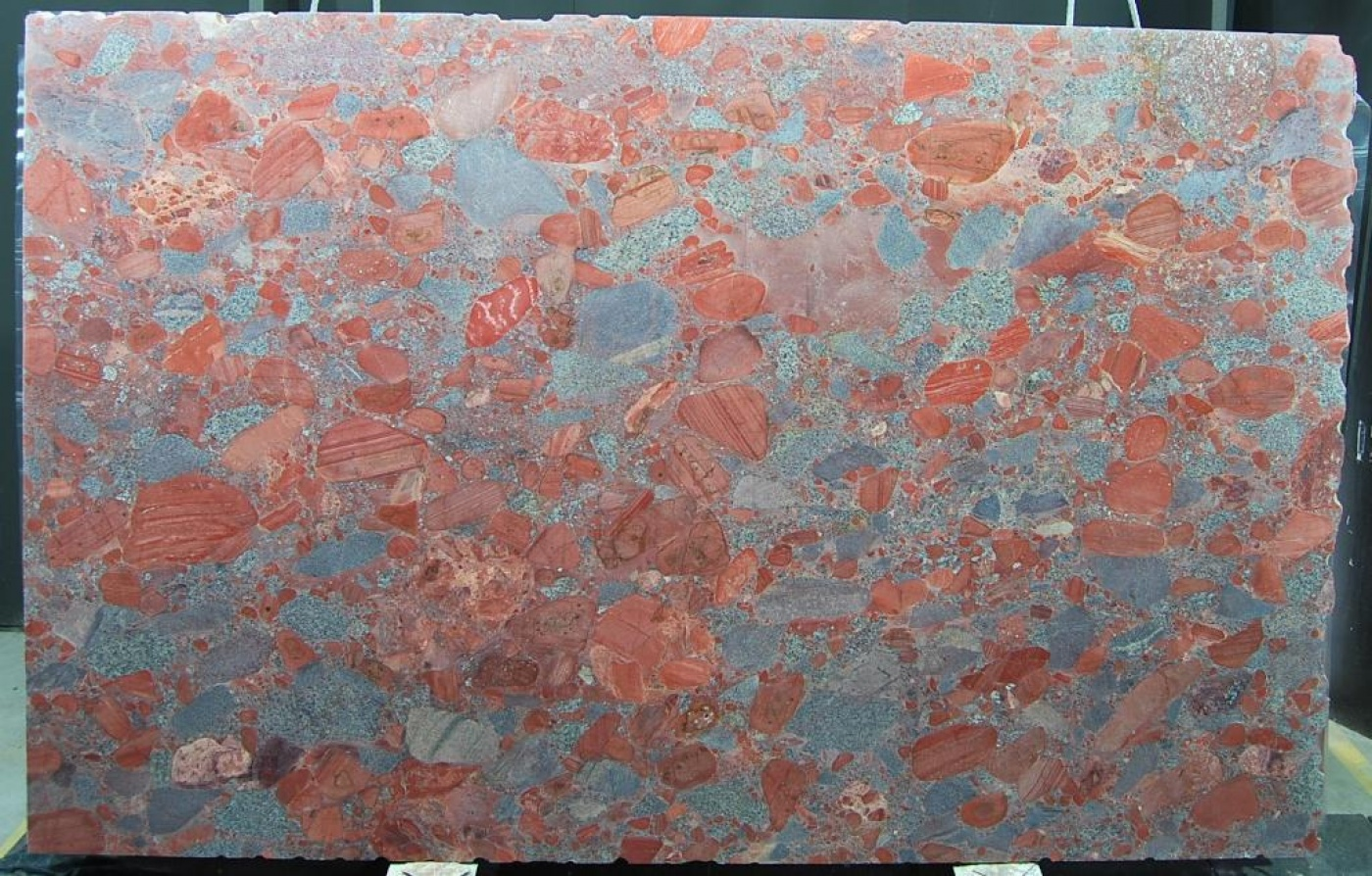 Red Marinace slab