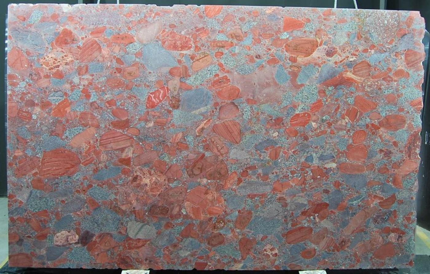 Marbre Red Marinace slab