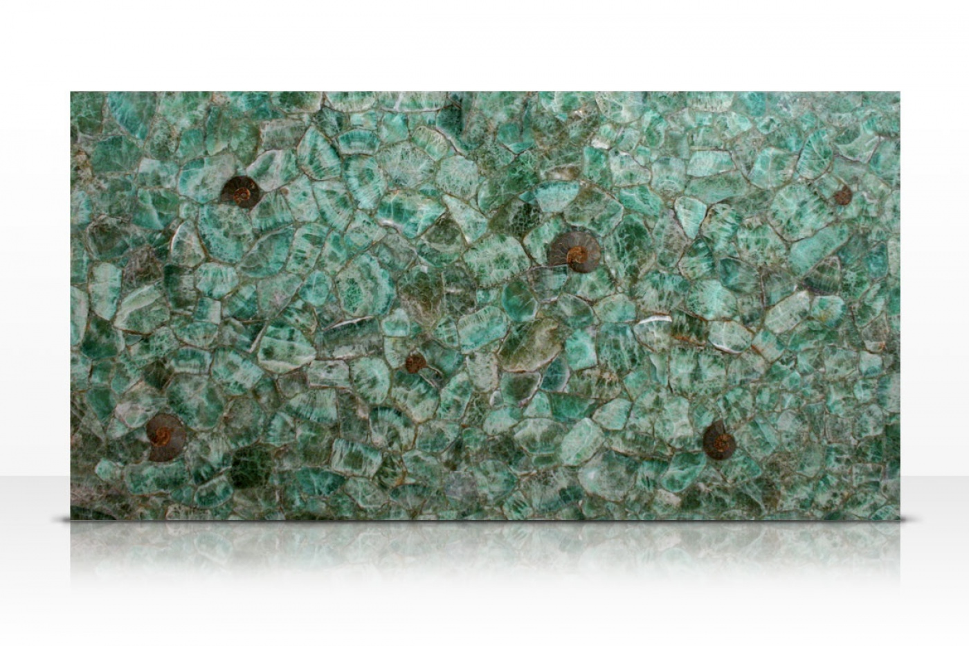 Emerald Fluorite slab