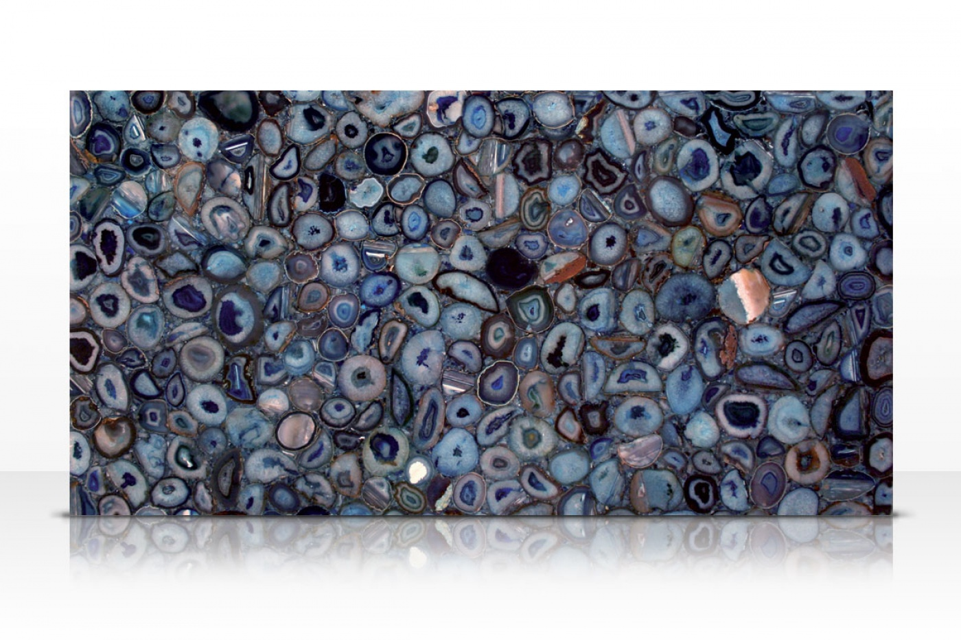 Blue Agate slab