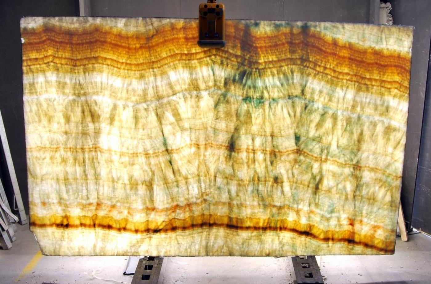 Quartzite Tranche onyx cielo back light (rétro-éclairée)