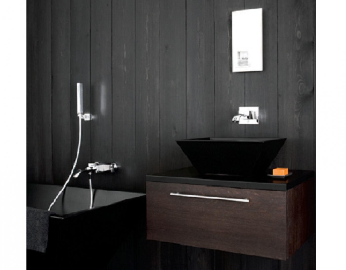 Pierre calcaire Mitigeur baignoire avec complet douche