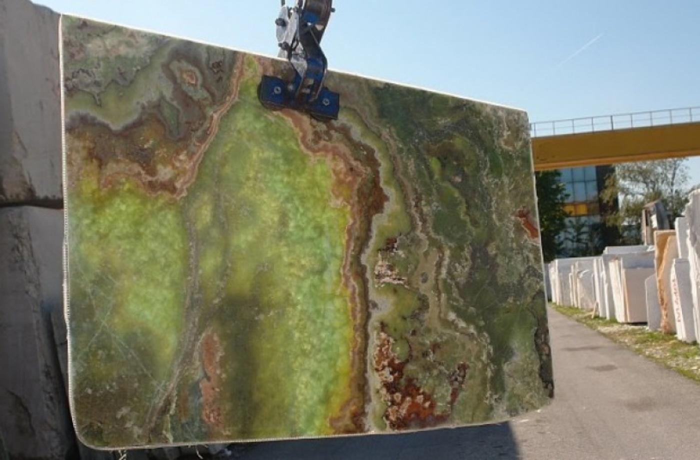 Semi-précieux Onyx Verde Smeraldo