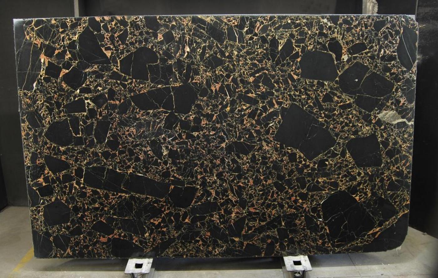 Composite Quartz Athens Portor tranche de marbre