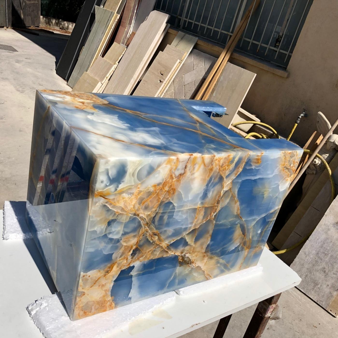 Mobilier Onyx Bleu Gold