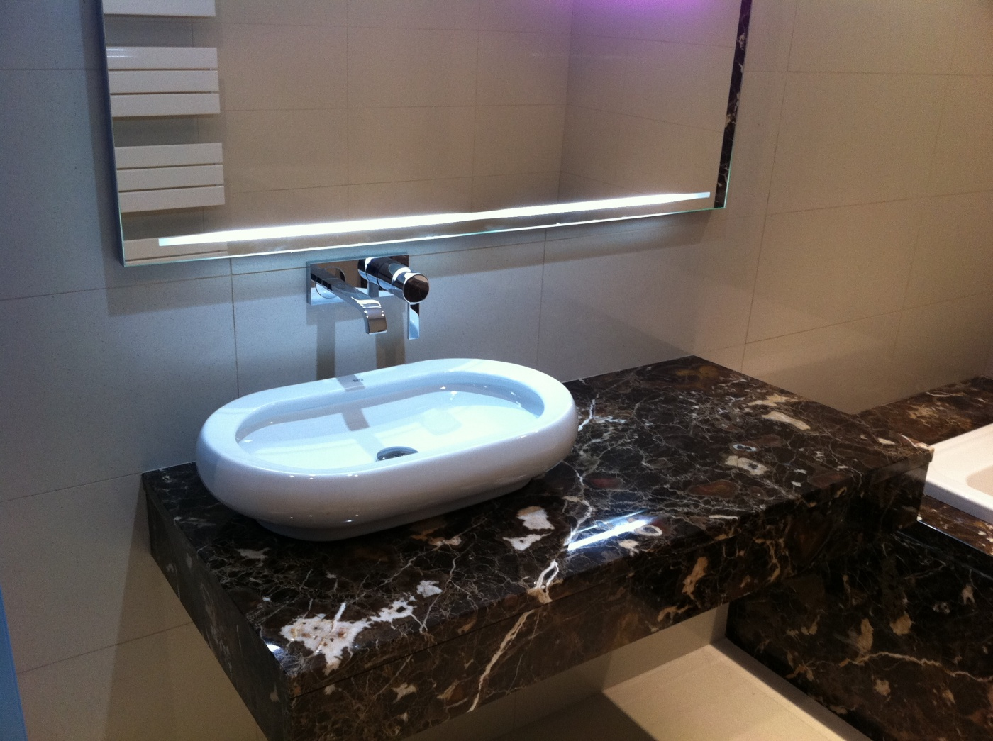Bathroom Emperador Brown