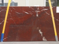 Rouge Griotte Extra polished slabs (book match)