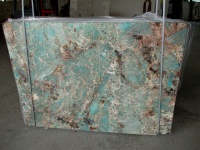 Amazzonite slabs