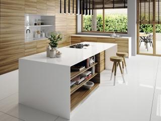 Silestone Iconic White Plan de Travail Cuisine à Carqueiranne