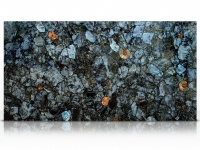 Labradorite precious stone slab