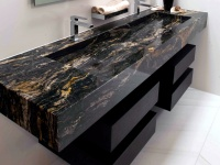 Vasque sur mesure en granit Black Cosmic