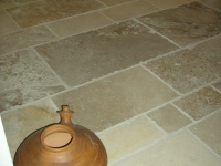 Limeyrat Ocre stone brushed finished