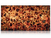 Wild Agate light slab backlit