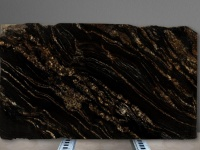 Tranche de granit poli