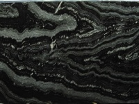 Agatha Black granite slabs