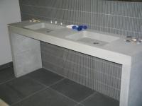 Vasque et jambage massifs en Pietra Serena