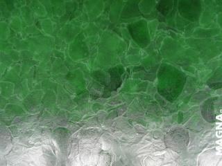 Grenn Patinated Verre recyclé de bouteilles Heineken Finition brossée
