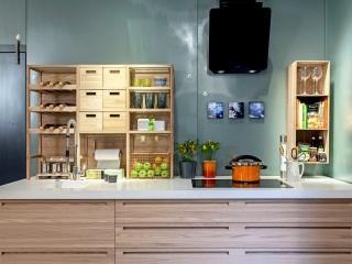 Silestone Blanco Maple Plan de Travail Cuisine Fabrication et pose de cuisine Hyères Var
