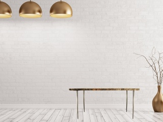 Edna: table basse design en granit magma gold finition brute