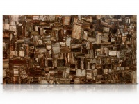 Retro Petrified Wood slab