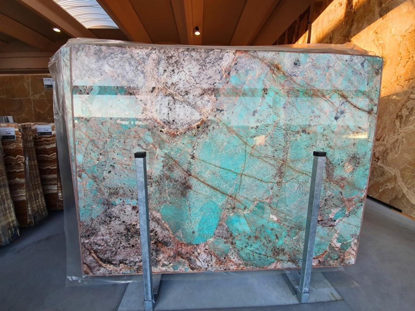 Composite Quartz granit amazonite vert