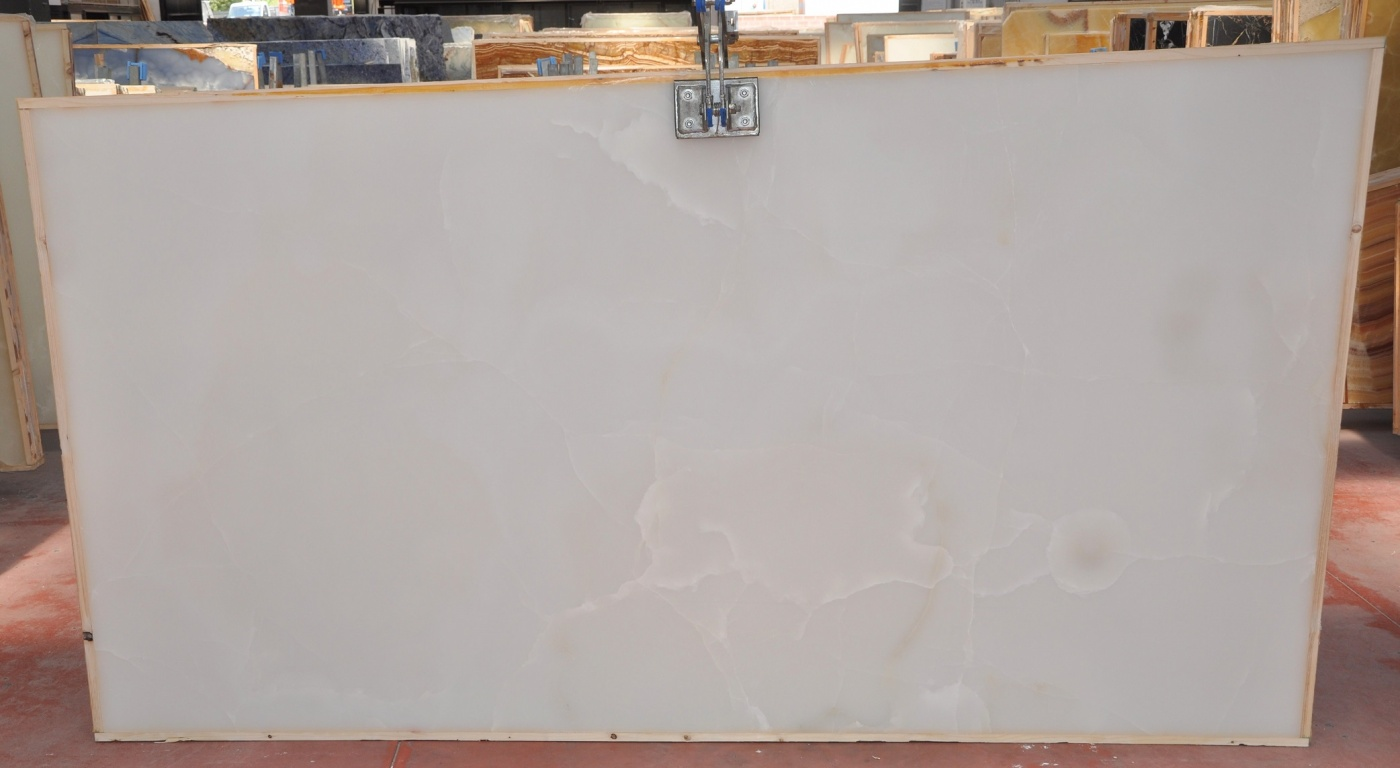 Onyx White Supreme quality slabs