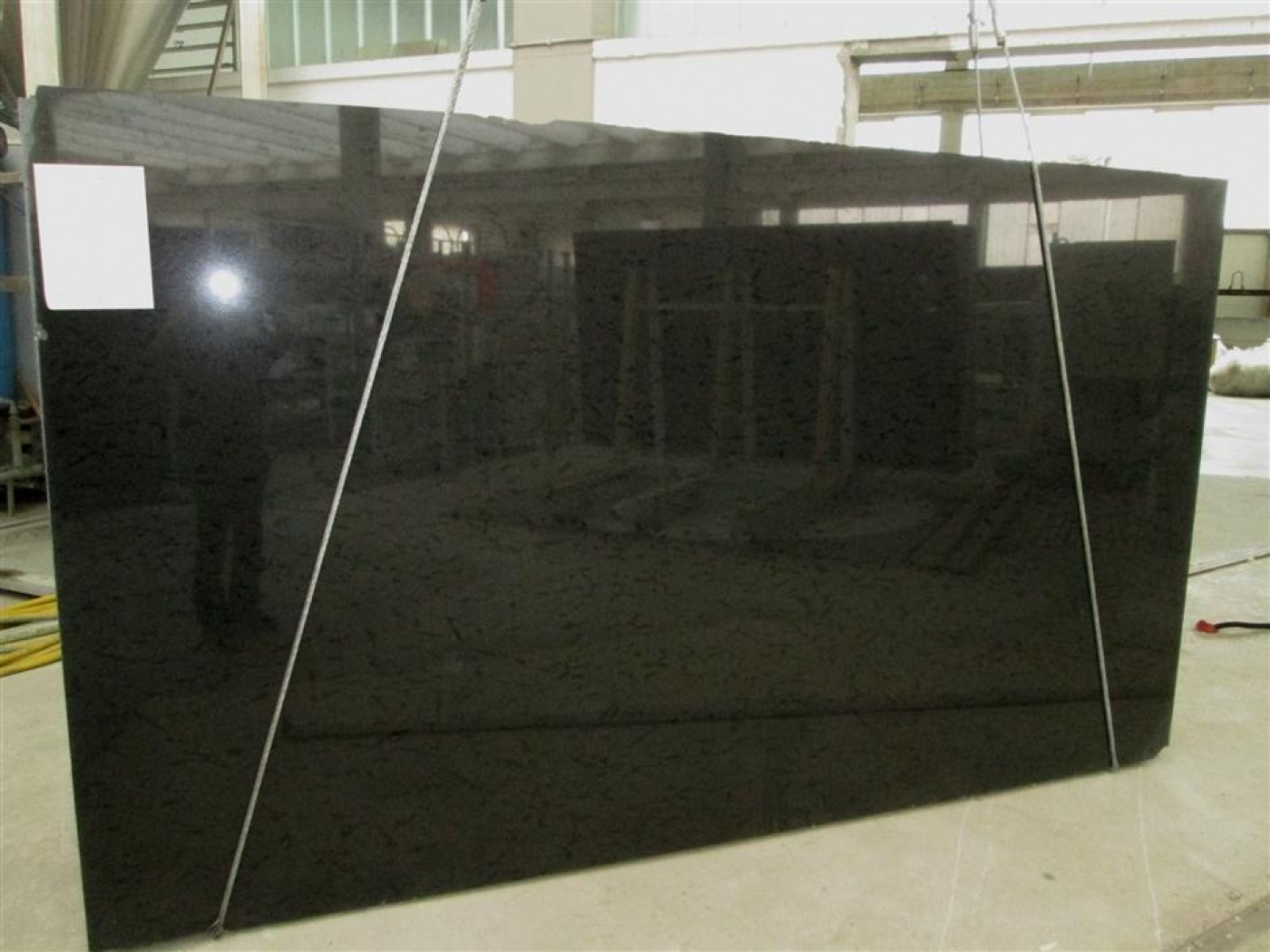 Glass Ceramic Spice Black granit slab