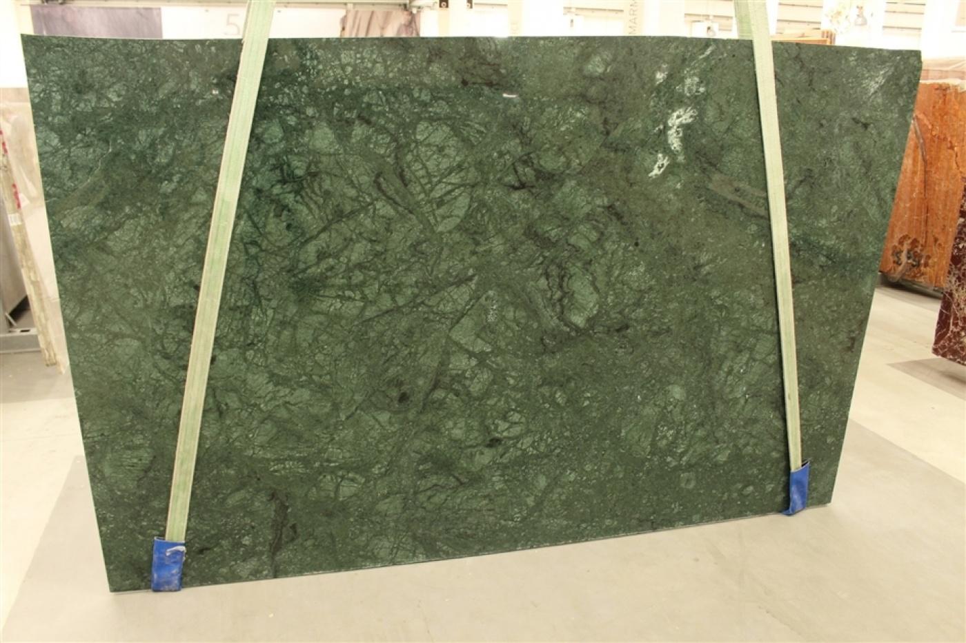 Glass Ceramic Verde Guatemala. Tranche de marbre
