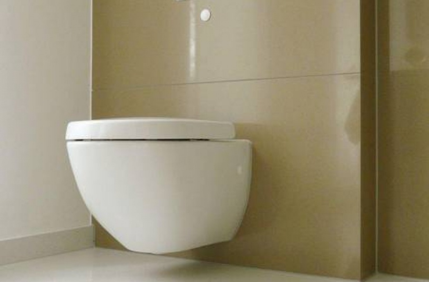 Habillage toilettes en Quartz Maron Canela. Wc design Stark