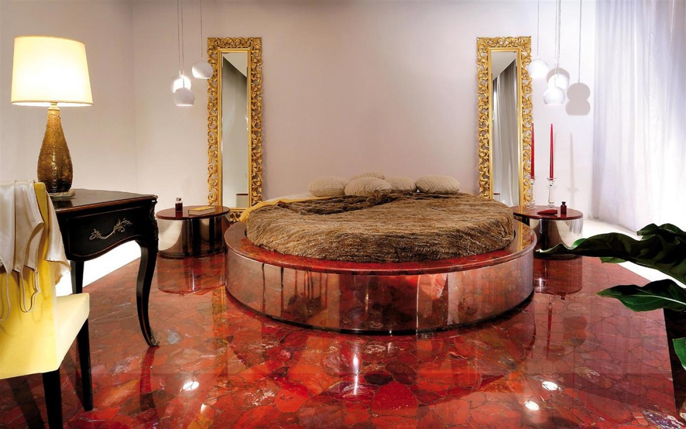 Marbre Red Jasper bedroom