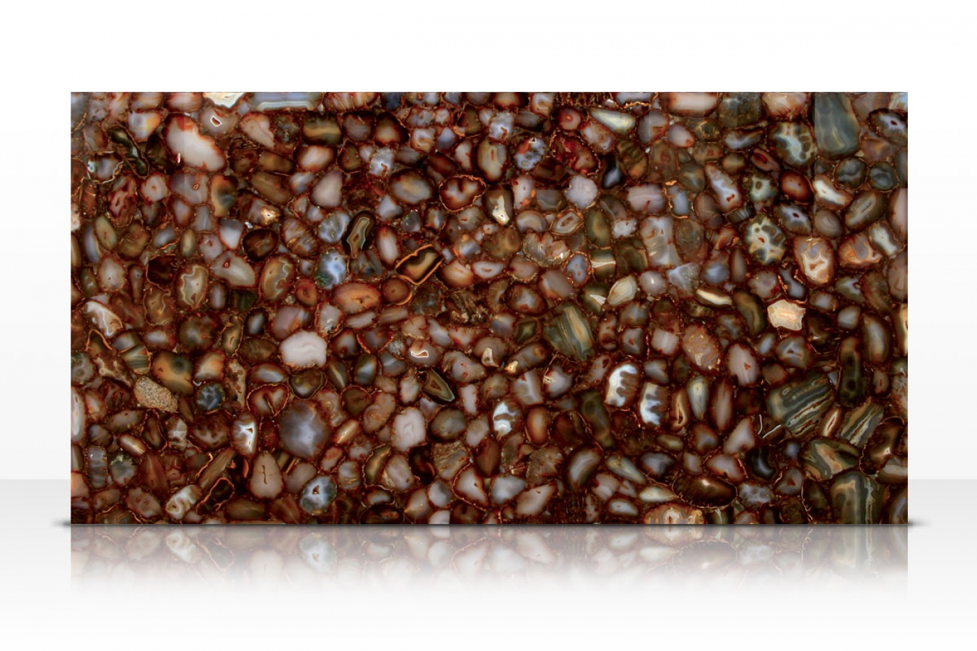 Carnelian Brown slab