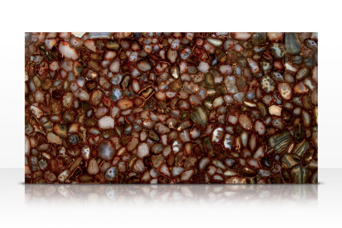 Marbre Carnelian Brown slab