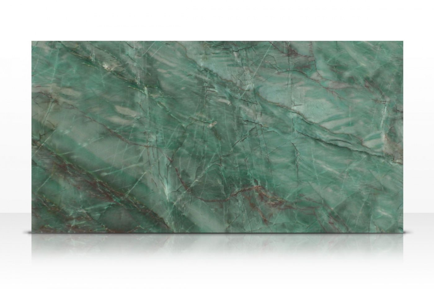 Emerald Quartzite slabs