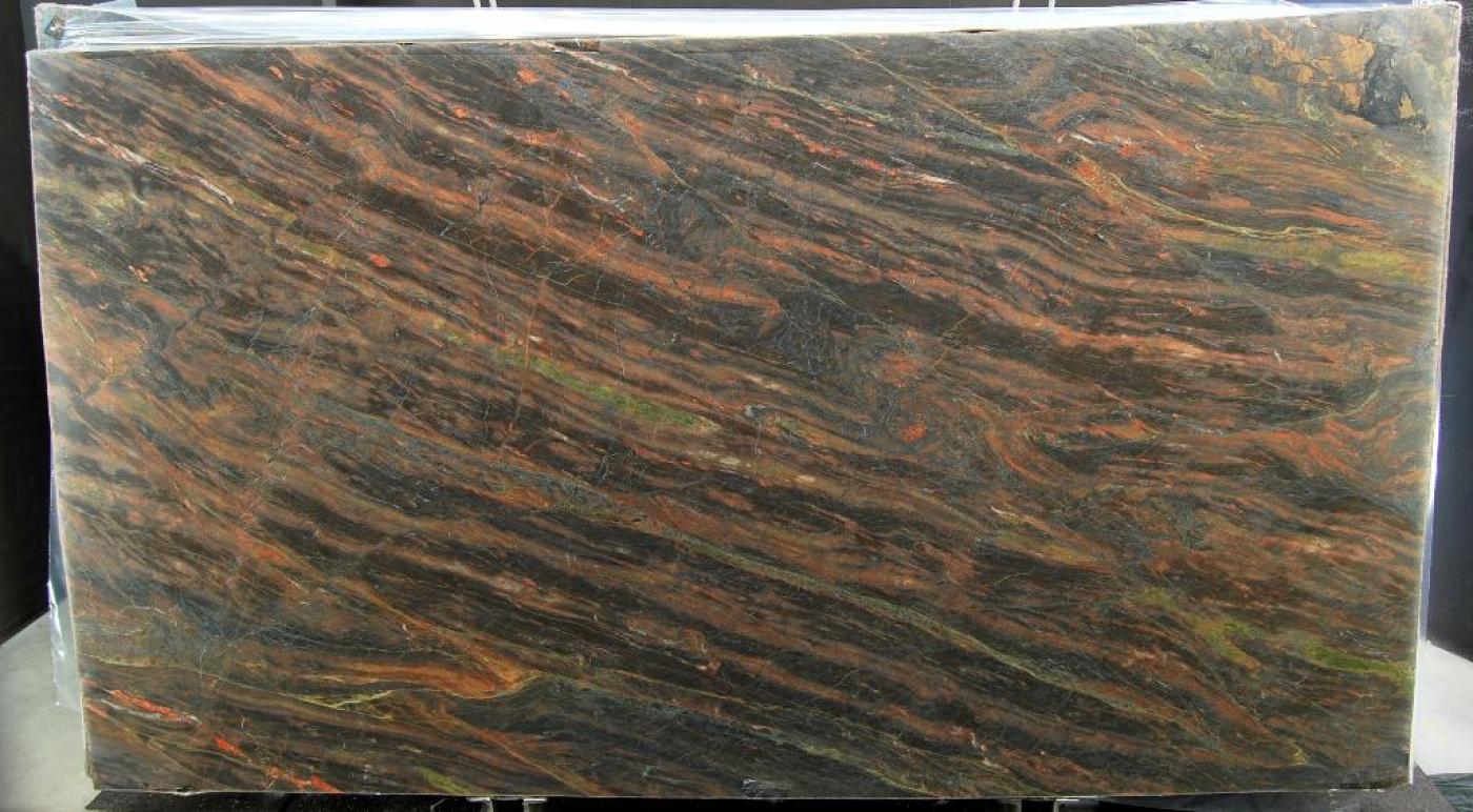 Onyx Tranche de quartzite marron Capolavoro
