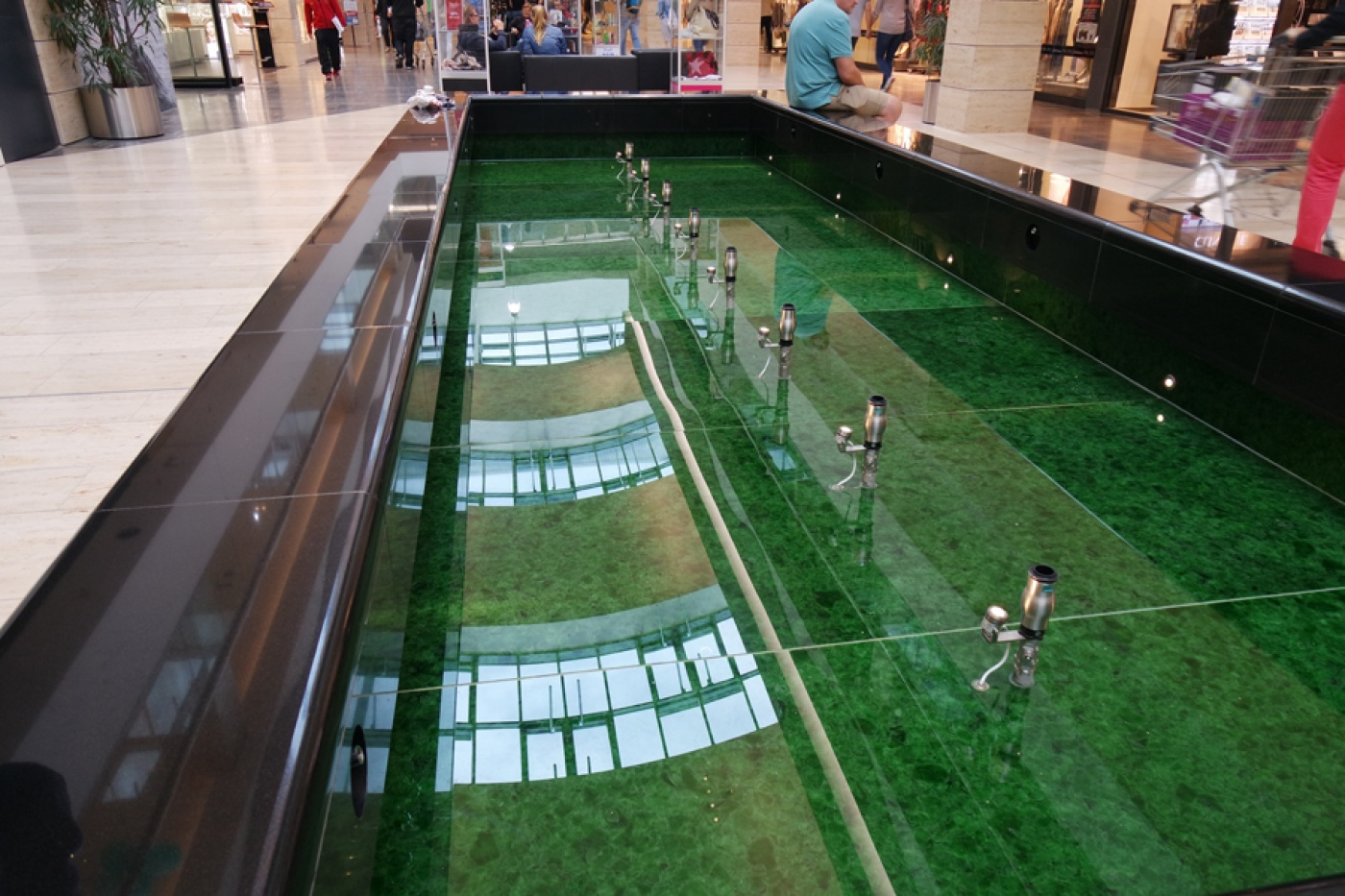 Fontaine en Green Magna