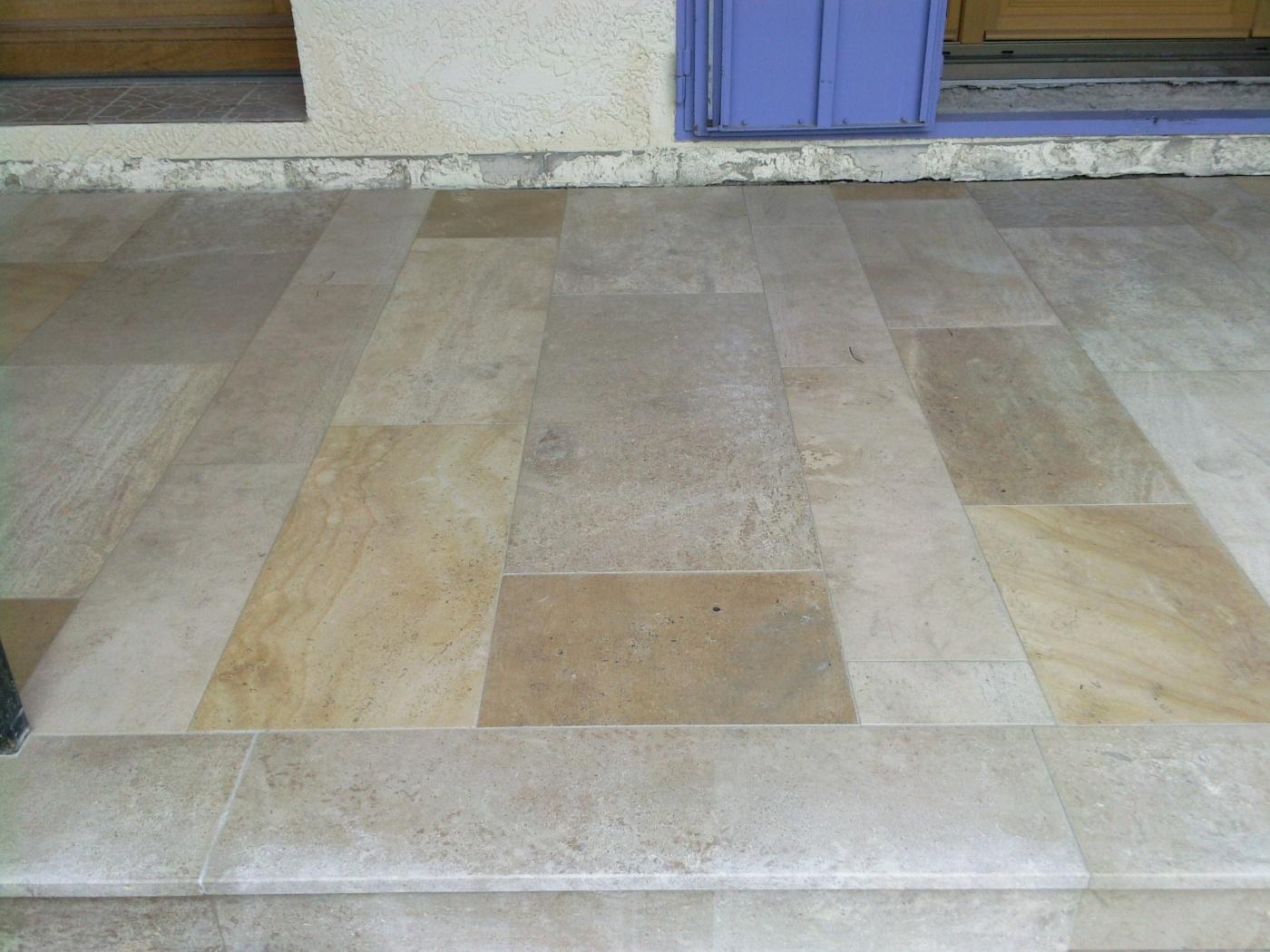 Mélange de pierres du Chatillonnais Bandes largeur 20/30/40cm , long. libres x épaisseur 2cm